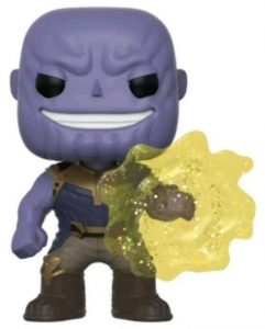 Funko POP de Thanos usando el guantelete - Los mejores FUNKO POP de Thanos - Funko POP de Marvel Comics - Los mejores FUNKO POP de los Vengadores