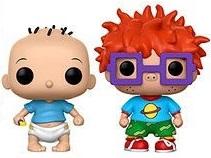 Funko POP de Tommy y Chuckie - Los mejores FUNKO POP de los Rugrats - Los mejores FUNKO POP de series de dibujos animados