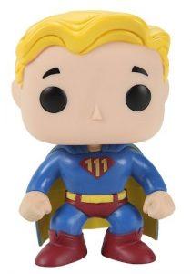 Funko POP de Vault Boy Superman - Los mejores FUNKO POP de Fallout - Los mejores FUNKO POP de personajes de videojuegos