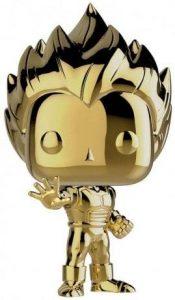 Funko POP de Vegeta Super Saiyan cromado dorado - Los mejores FUNKO POP de Vegeta de Dragon Ball - Los mejores FUNKO POP de anime