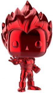 Funko POP de Vegeta Super Saiyan cromado rojo - Los mejores FUNKO POP de Vegeta de Dragon Ball - Los mejores FUNKO POP de anime