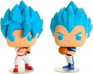 Funko POP de Vegeta y Goku Baseball - Los mejores FUNKO POP de Vegeta de Dragon Ball - Los mejores FUNKO POP de anime