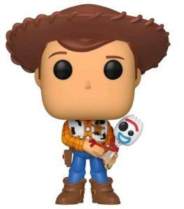 Funko POP de Woody con Forky - Los mejores FUNKO POP de Toy Story - Los mejores FUNKO POP de Toy Story 4 - FUNKO POP de Disney Pixar