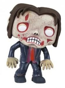 Funko POP de Zombie con traje - Los mejores FUNKO POP de zombies de The Walking Dead - Funko POP de series de televisión