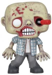 Funko POP de Zombie del destornillador - Los mejores FUNKO POP de zombies de The Walking Dead - Funko POP de series de televisión