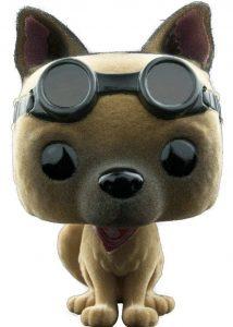 Funko POP de dogmeat con pelo flocked - Los mejores FUNKO POP de Fallout - Los mejores FUNKO POP de personajes de videojuegos