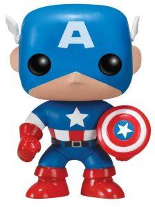 Funko POP del Capitán América clásico - Los mejores FUNKO POP del capitán América - Funko POP de Marvel Comics - Los mejores FUNKO POP de los Vengadores