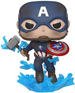 Funko POP del Capitán América con el martillo de Thor - Los mejores FUNKO POP del capitán América - Funko POP de Marvel Comics - Los mejores FUNKO POP de los Vengadores