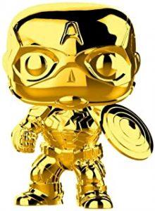 Funko POP del Capitán América dorado - Los mejores FUNKO POP del capitán América - Funko POP de Marvel Comics - Los mejores FUNKO POP de los Vengadores
