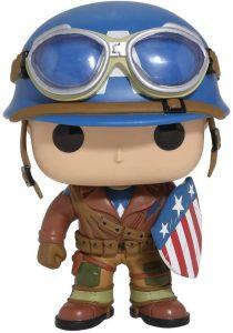 Funko POP del Capitán América el primer vengador clásico - Los mejores FUNKO POP del capitán América - Funko POP de Marvel Comics - Los mejores FUNKO POP de los Vengadores