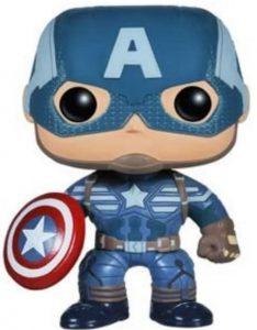 Funko POP del Capitán América modelo 2 - Los mejores FUNKO POP del capitán América - Funko POP de Marvel Comics - Los mejores FUNKO POP de los Vengadores