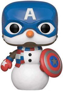 Funko POP del Capitán América muñeco de nieve - Los mejores FUNKO POP del capitán América - Funko POP de Marvel Comics - Los mejores FUNKO POP de los Vengadores