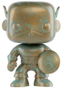 Funko POP del Capitán América patina - Los mejores FUNKO POP del capitán América - Funko POP de Marvel Comics - Los mejores FUNKO POP de los Vengadores
