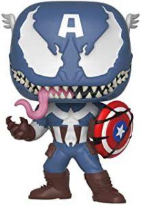 Funko POP del Capitán América venomized - Los mejores FUNKO POP del capitán América - Funko POP de Marvel Comics - Los mejores FUNKO POP de los Vengadores