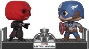 Funko POP del Capitán América vs Cráneo Rojo - Los mejores FUNKO POP del capitán América - Funko POP de Marvel Comics - Los mejores FUNKO POP de los Vengadores