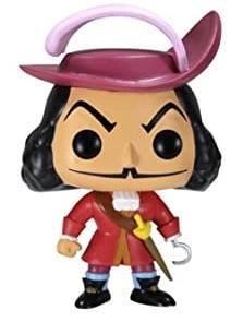 Funko POP del Capitán Garfio - Los mejores FUNKO POP de Peter Pan - Funko POP de Disney