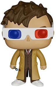 Funko POP del Décimo Doctor Who con gafas 3D - Los mejores FUNKO POP de Doctor Who - Funko POP de series de televisión