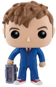 Funko POP del Décimo Doctor Who con mano - Los mejores FUNKO POP de Doctor Who - Funko POP de series de televisión