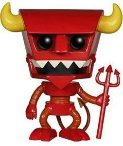 Funko POP del Diablo Robot - Los mejores FUNKO POP de Futurama - Los mejores FUNKO POP de series de dibujos animados