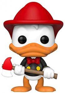 Funko POP del Pato Donald bombero - Los mejores FUNKO POP del Pato Donald - FUNKO POP de Disney