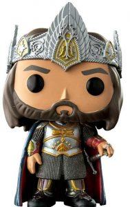 Funko POP del Rey Aragorn - Los mejores FUNKO POP del Señor de los Anillos - Funko POP de películas de cine