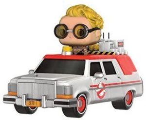 Funko POP del coche de los cazafantasmas con Jillian Holtzmann - Los mejores FUNKO POP de los cazafantasmas - Ghostbusters - Funko POP de películas de cine