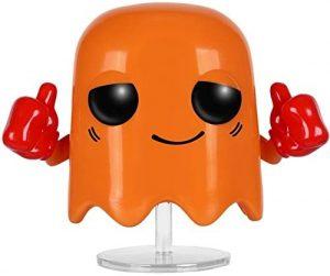 Funko POP del fantasma naranja - Los mejores FUNKO POP del Pacman - Los mejores FUNKO POP de personajes de videojuegos