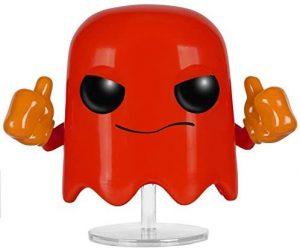 Funko POP del fantasma rojo - Los mejores FUNKO POP del Pacman - Los mejores FUNKO POP de personajes de videojuegos