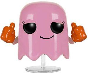 Funko POP del fantasma rosa - Los mejores FUNKO POP del Pacman - Los mejores FUNKO POP de personajes de videojuegos
