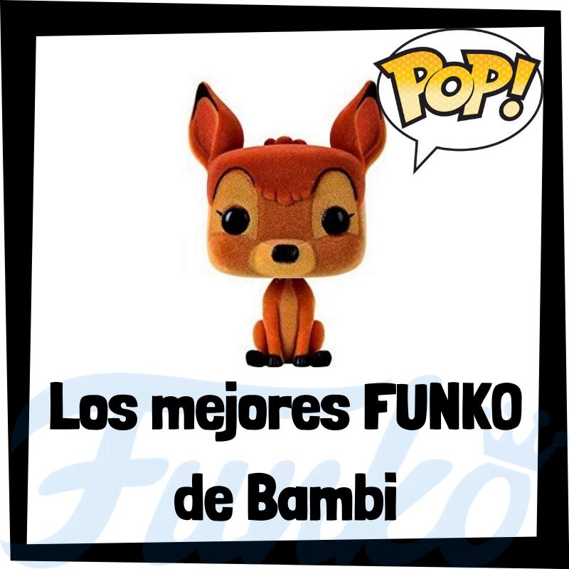 Los mejores FUNKO POP de Bambi