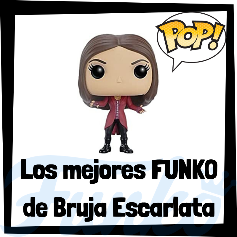 Los mejores FUNKO POP de la Bruja Escarlata