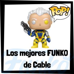 Los mejores FUNKO POP de Cable - Los mejores FUNKO POP de los X-Men - Funko de los personajes de los X-Men