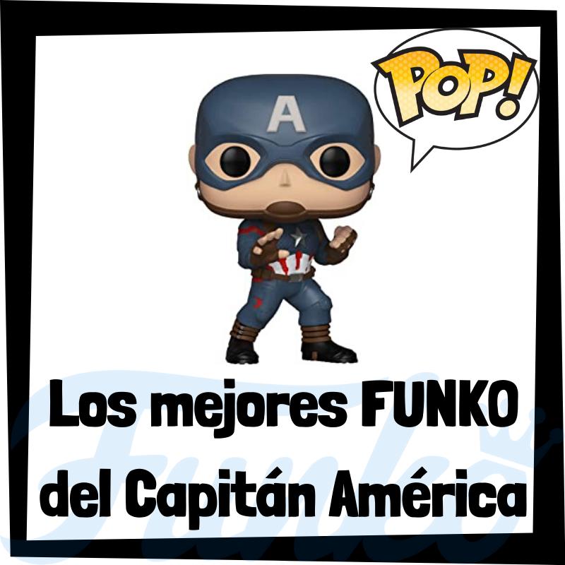 Los mejores FUNKO POP del Capitán América