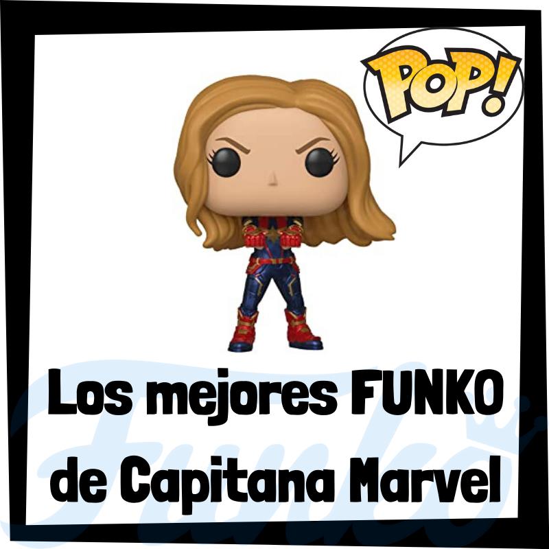 Los mejores FUNKO POP de Capitana Marvel