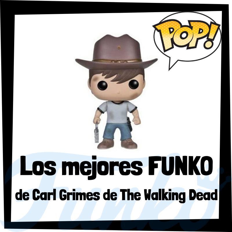Los mejores FUNKO POP de Carl Grimes de The Walking Dead