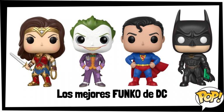 Los mejores FUNKO POP de DC - Los mejores FUNKO POP de personajes de películas de DC Comics - Los mejores FUNKO POP de DC Comics - FUNKO POP de la Liga de la Justicia