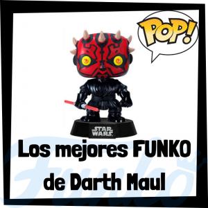 Los mejores FUNKO POP de Darth Maul - Los mejores FUNKO POP de Star Wars - Los mejores FUNKO POP de las Guerra de las Galaxias