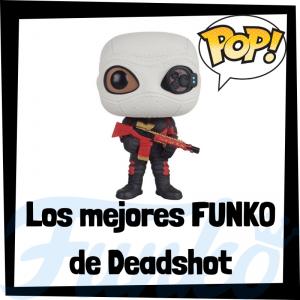 Los mejores FUNKO POP de Deadshot en Escuadrón Suicida - Funko POP de villanos de Suicide Squad - Funko POP de personajes de DC