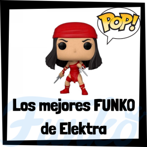 Los mejores FUNKO POP de Elektra - Funko POP de The Defenders - Funko POP de personajes de Marvel