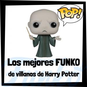 Los mejores FUNKO POP de villanos de Harry Potter