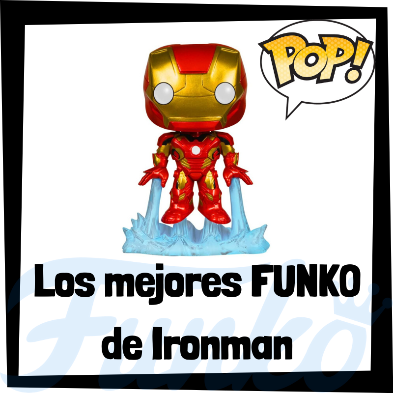 Los mejores FUNKO POP de Iron man