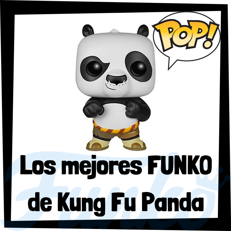 Los mejores FUNKO POP de Kung Fu Panda