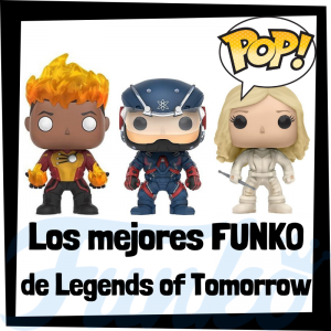 Los mejores FUNKO POP de Legends of Tomorrow - Funko POP de series de DC - Funko POP de personajes de DC