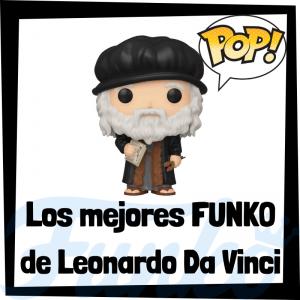 Los mejores FUNKO POP de Leonardo Da Vinci - Los mejores FUNKO POP de personajes históricos - Los mejores FUNKO POP de inventores