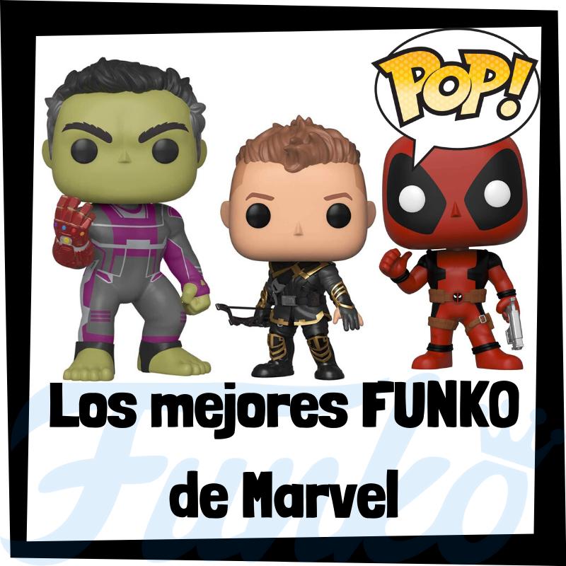 Los mejores FUNKO POP de Marvel