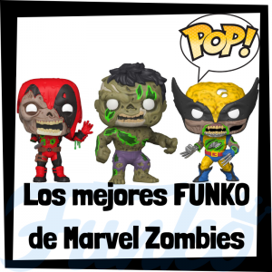 Los mejores FUNKO POP de Marvel Zombies - Funko POP de personajes de Marvel