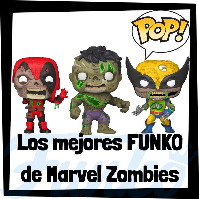 Los mejores FUNKO POP de Marvel Zombies