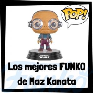 Los mejores FUNKO POP de Maz Kanata - Los mejores FUNKO POP de Star Wars - Los mejores FUNKO POP de las Guerra de las Galaxias