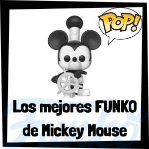 Los mejores FUNKO POP de Mickey Mouse - Funko POP de personajes de Disney de Mickey Mouse - Funko de películas de animación