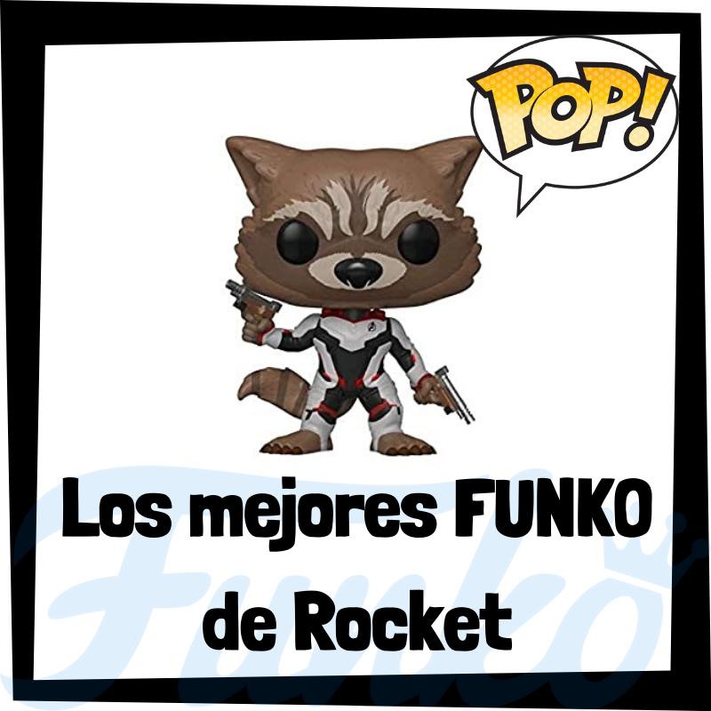 Los mejores FUNKO POP de Rocket Racoon